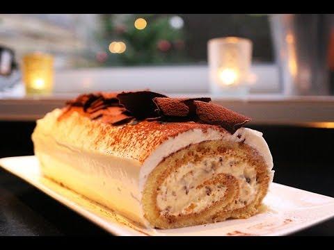 recette-de-la-bûche-de-noël-tiramisu-facile-by-hervé-cuisine