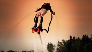 FlyBoard - ewolucje na wodzie w Sopocie video