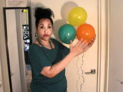 Diy Balloons Cheap Party Decorations Youtube