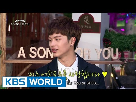 Global Request Show : A Song For You 3 - Ep.17 With BTOB