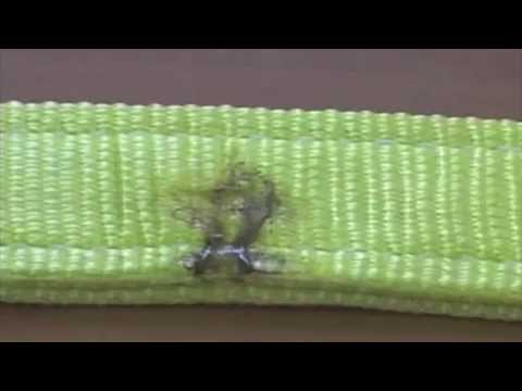 Текстильные стропы СТП. Испытание строп на прочность.