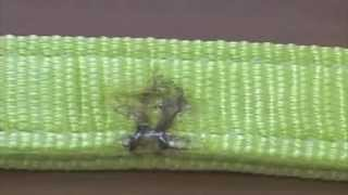Текстильные стропы СТП. Испытание строп на прочность.(Мы решили испытать - при какой нагрузке порвется стропа имеющая различные повреждения. Для этого мы взяли..., 2013-06-03T07:02:31.000Z)
