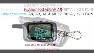 StarLine A9 - Совместимость брелков с обратной связью