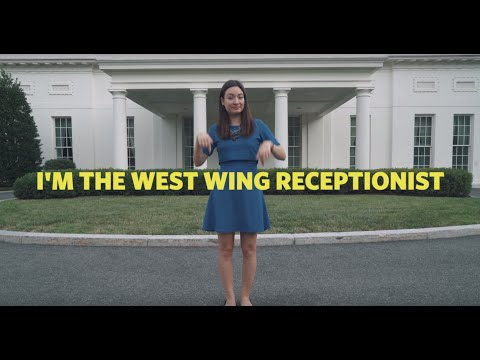 West Wing Tour   In Sign Language and Audio Description