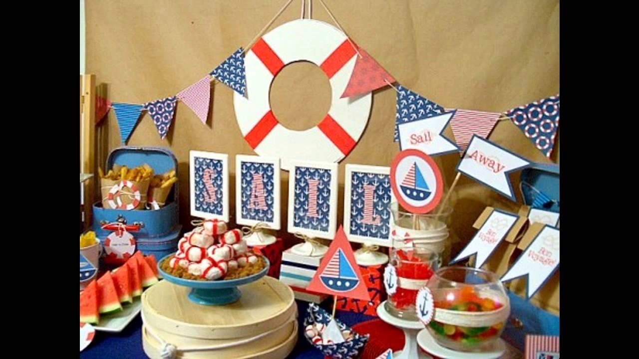 Stunning Nautical party decor ideas - YouTube