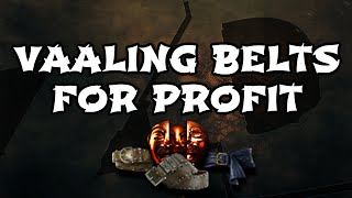 Path of Exile: Vaaling Belts for Profit - Vaal Orb Crafting & Currency Making Guide