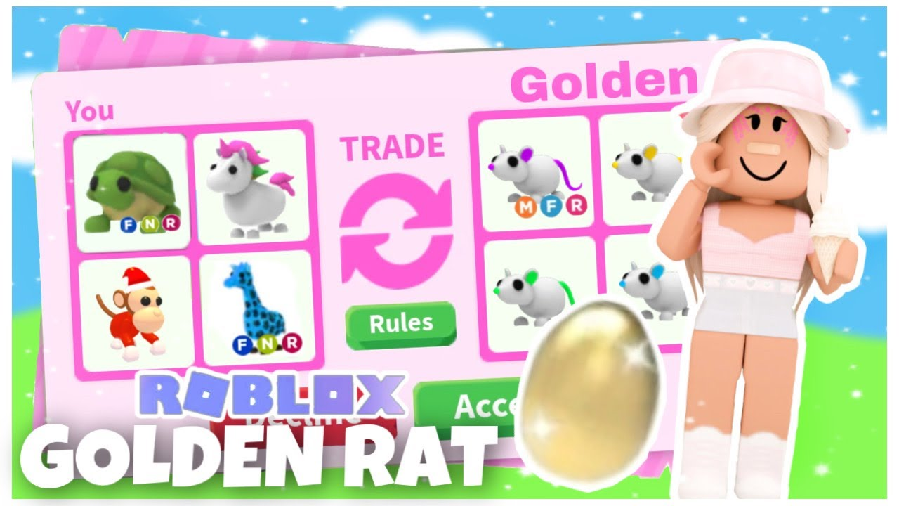JE FAIS UN GOLDEN RAT NEON !!