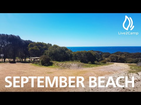 September Beach Campground - Lincoln National Park, South Australia
