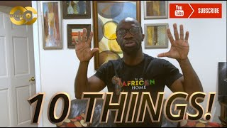 Download Clifford Owusu Comedy - In An African Home: 10 Things - Clifford Owusu