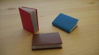 Оригами. Как сделать книгу из бумаги (видео урок)