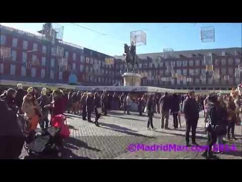 Madrid's Plaza Mayor Christmas Market