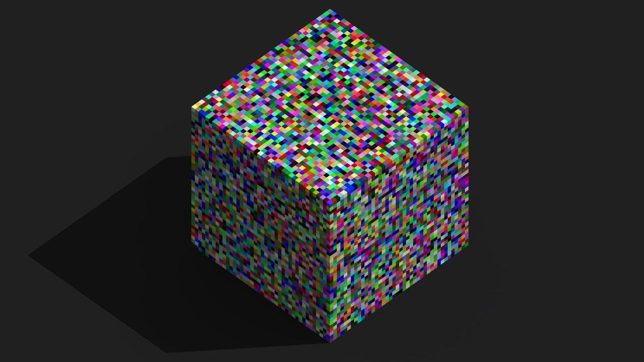Color Picker Tool in MagicaVoxel - Tutorial