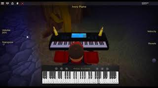 In the House, In a Heartbeat - 28 Days Later by: John Murphy on a ROBLOX piano.