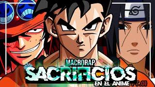 RAP de SACRIFICIOS【SAD MACROCOLABO】(Anime) ||KenTroX Ft. Kryasou! & Varios Artistas