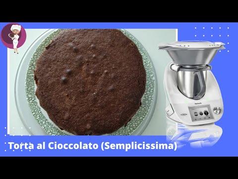 """Torta al Cioccolato  Bimby """"sette bicchieri"""""""