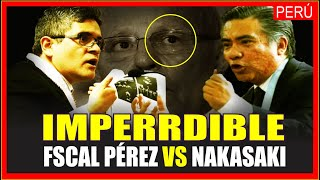 PERÚ: IMPERDIBLE CRUCE ENTRE EL FISCAL DOMINGO PÉREZ Y ABOGADO DE EXPRESIDETE KUCZYNSKI