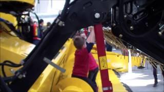 Rolmax (kombajn New Holland CX5080) - Targi Rolnicze Agro-Park 2015