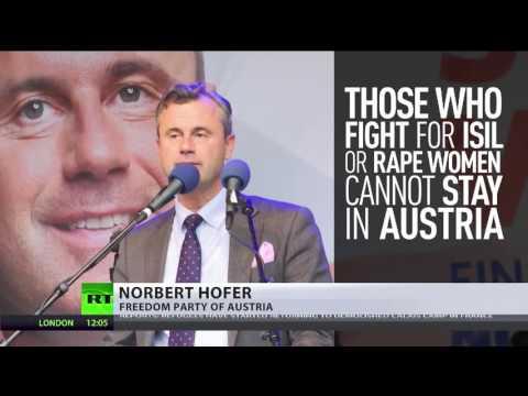 Dr  Johann Überbacher talks to RT International