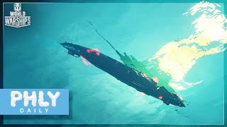 WORLD OF WARSHIPS has SUBMARINES (World Of Warships Submarines Gameplay)