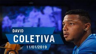 11/01/2019 - Coletiva: David
