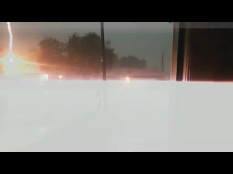 Lightning Strikes House During San Antonio Thunderstorm