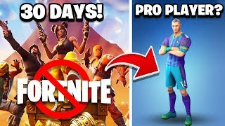 I TOOK 30 DAYS OFF FORTNITE - HERE'S WHAT HAPPENED!