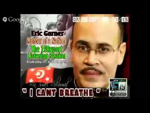 """Eric Garner (""""I CAN'T BREATHE) Murder of a Nation"""