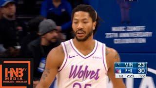 Sixers vs Timberwolves 1st Qtr Highlights | 01/15/2019 NBA Season