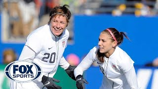 Alex Morgan and Abby Wambach discuss passing the torch