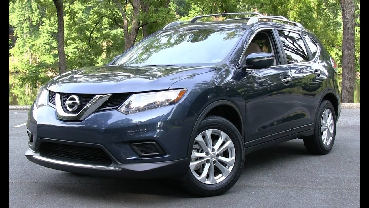 2015 nissan rogue sv start up road test and in depth review youtube. Black Bedroom Furniture Sets. Home Design Ideas