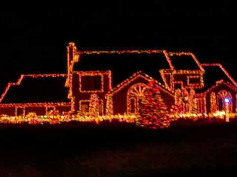 Extreme Christmas House In Fort Wayne Youtube