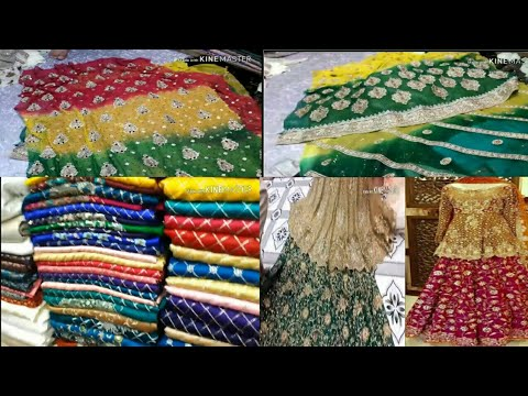 Affordable Pakistani Mehndi Party Or Wedding Dresses For Sale||