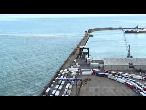Dover Harbour Time Lapse.