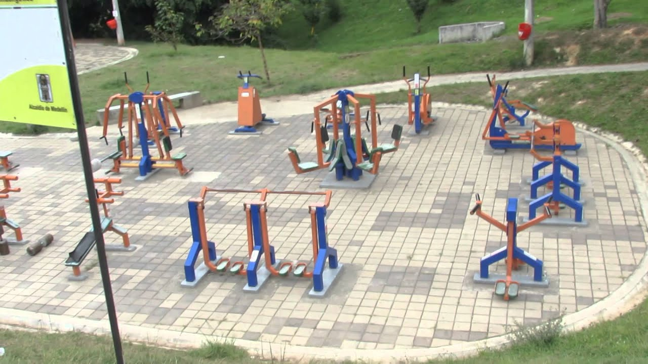 gimnasio al aire libre inder youtube