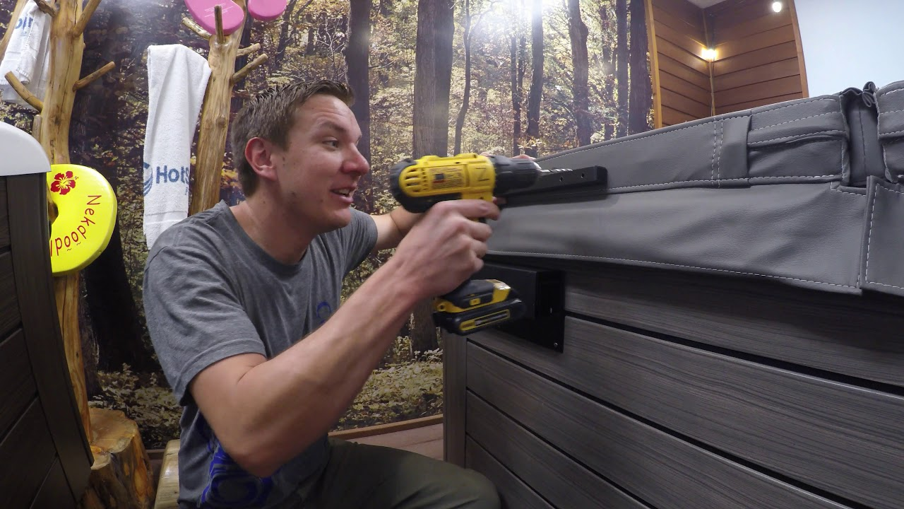 The Hot Tub Expert\'s Lift N Glide Installation - YouTube