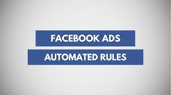 Create Facebook Automated Ad Rules | Manage Facebook Ads Automatically