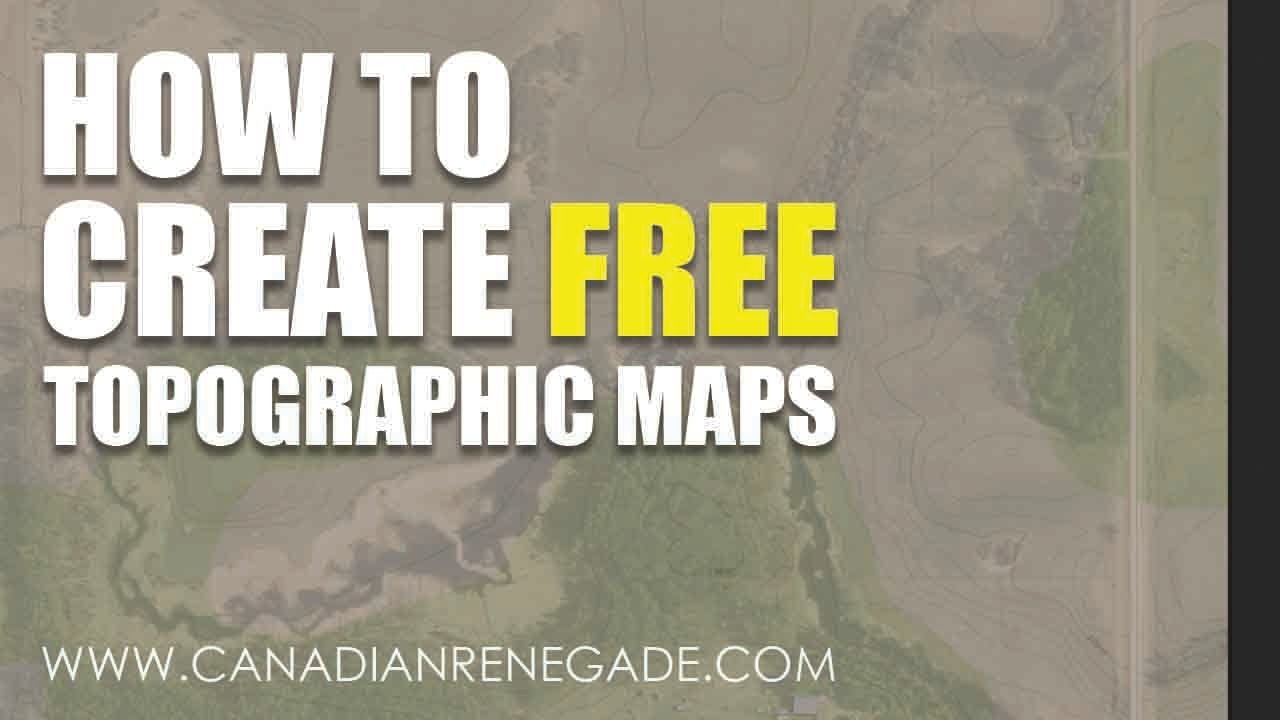 How To Make A Free Topographic Map For Permaculture Design Youtube