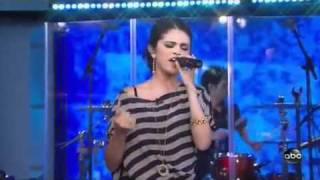 Selena Gomez - A Year Without Rain LIVE on ABC Family HD