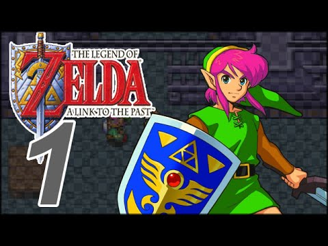 Loz A Link To The Past Part 1 Dat Pink Hair Youtube