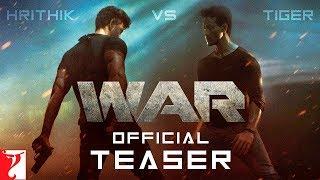 War Movie Teaser Review; War Film Review Hrithik Roshan, Tiger Shroff; वॉर मूवी रिव्यू, रितिक रोशन