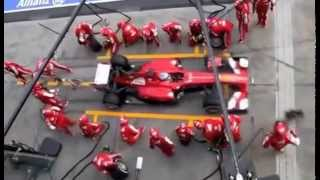 Formula 1 Pit Stops 1950 & Today