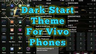 Dark Start Theme For Vivo Phones
