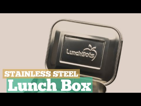 Stainless Steel Lunch Box // 12 Stainless Steel Lunch Box You've Got A See!