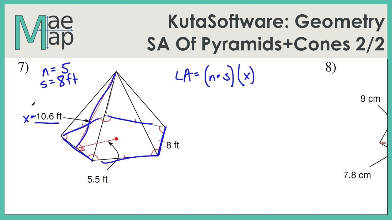 💣 Kuta software infinite pre algebra surface area of solids