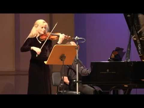 Gudrun Schaumann & Anthony Spiri play Robert Schumann Sonata d minor op.121: I Lebhaft