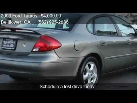 2003 ford taurus ses deluxe 4dr sedan for sale in bellflower youtube 2003 ford taurus ses deluxe 4dr sedan for sale in bellflower thecheapjerseys Images