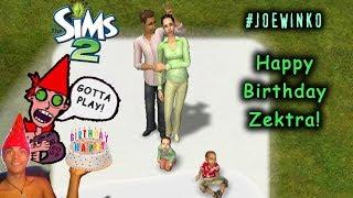 Video Happy Birthday Zektra! | Sims 2 Live Stream (Mar 31st 2018) | Joe Winko download MP3, 3GP, MP4, WEBM, AVI, FLV Oktober 2018