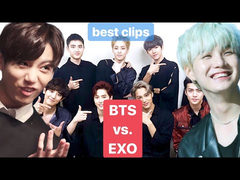 Baixar Which BTS Member Resembles The EXO Member?