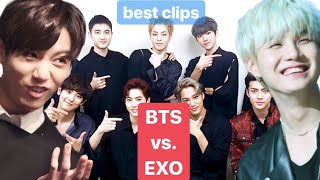 Which BTS Member Resembles The EXO Member?