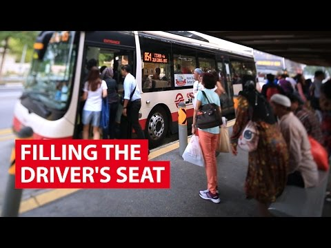 Filling The Driver's Seat | It Figures | CNA Insider